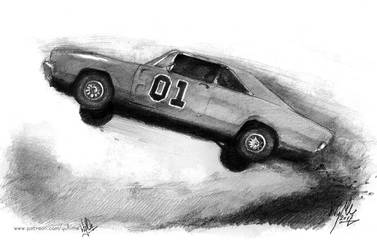 General Lee - Dukes of Hazzard by yuhime