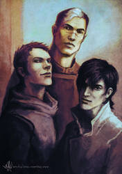 Voltron - Shiro, Lance and Keith by yuhime