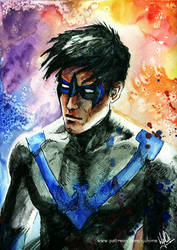 Dick Grayson - Nightwing by yuhime