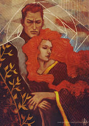 The King and his Lady by yuhime