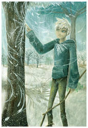 Rise Of The Guardians: Jack Frost by Mimint