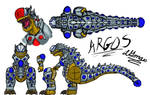ARGOS- the 100-eyed Giant by dragokaiju2000