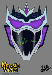 Monster Wars- SOUNDWAVE Head Shot (teaser) by dragokaiju2000