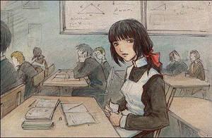 school girl by t-a-t-k-a