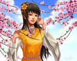 Huang Rong by WhisperingSoul