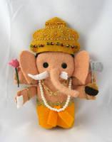 Ganesha by deridolls