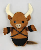 Minotaur by deridolls
