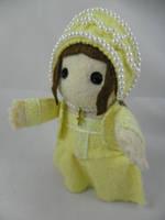 Princess Mary Tudor by deridolls