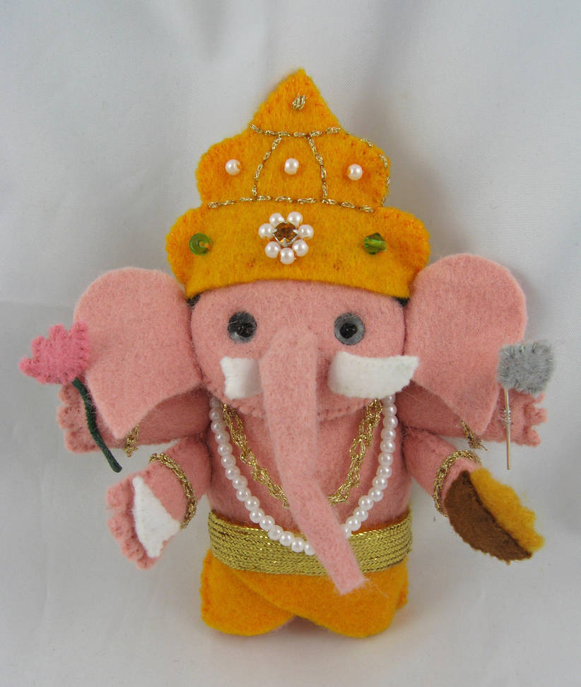 Ganesha II - commission by deridolls