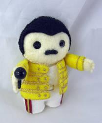 Freddie Mercury III by deridolls
