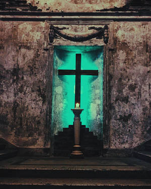 cross in church by youallthemeat