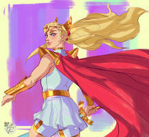 new She-Ra sketch. by Siga4BDN
