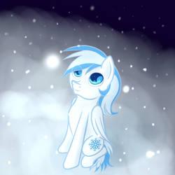 BAP Commission 2: Snowflake Pegasus by Pustulioooooo
