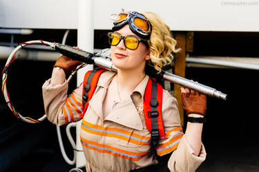 Jillian Holtzmann Cosplay - Ghostbusters by smilesarebetter