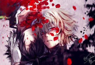 BLOODY EYES by Goditsuka