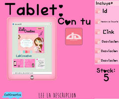 Tablet Da by LaliCreative