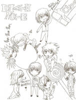 Death Note Chibis by Nycky