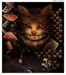 Cheshire cat  2 by Geyzerrr