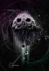 Dangerous space. Meteor by Geyzerrr