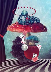 Blue Caterpillar by Geyzerrr