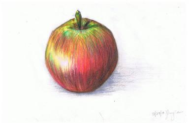 Basic Apple by mediocreart-er