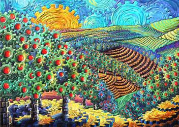 apple tree by kenglye