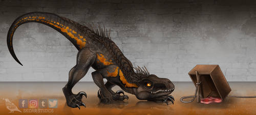To Catch an Indoraptor by Skidar