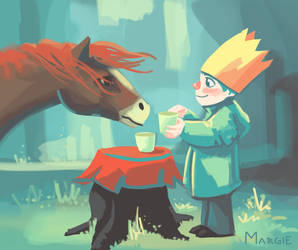 Tea Party by margieeee