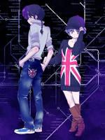 Ranma and Akane Fashion London by blokiiz
