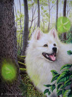 The little magic in the forest (Kimba) by End-of-Horizon