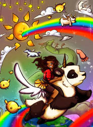 The Most Awsome Adventure EVER by Sakiimi