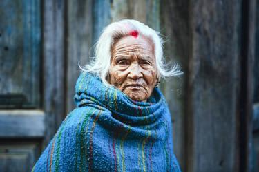 Nepalese Woman by drifterManifesto