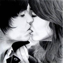 A Kiss by oddsuns