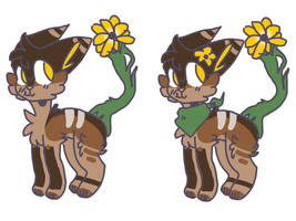 OPEN NYP|summer sunflower by ghoststrings