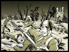 World War I Battlefield by SkyFitsJeff