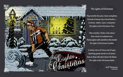 The Lights of Christmas by SkyFitsJeff