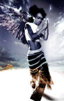 Left Eye Angel by TheWebmistress