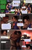 CHUN LI: THE GAUNTLET pg 9 by Tree-ink