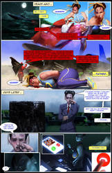 Chun Li: THE GAUNTLET Page 11 by Tree-ink