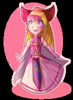 Four Swords Princess Zelda by ellenent