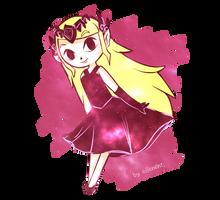 Galaxy Toon Zelda by ellenent
