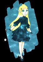 Galaxy Botw Zelda by ellenent