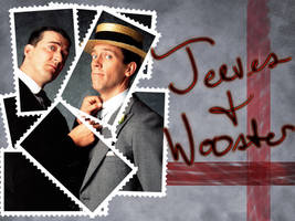 Jeeves and Wooster Wallpaper by WolfOfLegends