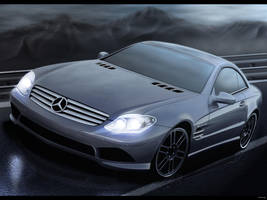 Mercedes Benz SL AMG by ZHtuning