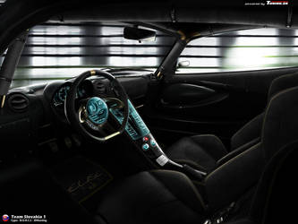Lotus Elise RR interior by ZHtuning