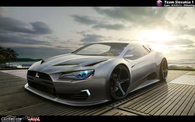 Mitsubishi rEvolution Concept by ZHtuning
