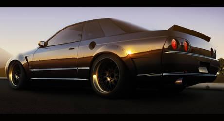 Nissan Skyline R32 by ZHtuning