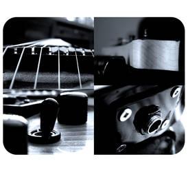 guitarstuffbw by hugejeff
