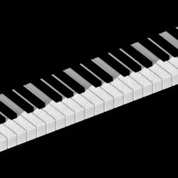Piano Keys Lighting by brookville