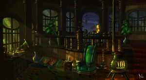 Cozy Quarters by Natal-ee-a